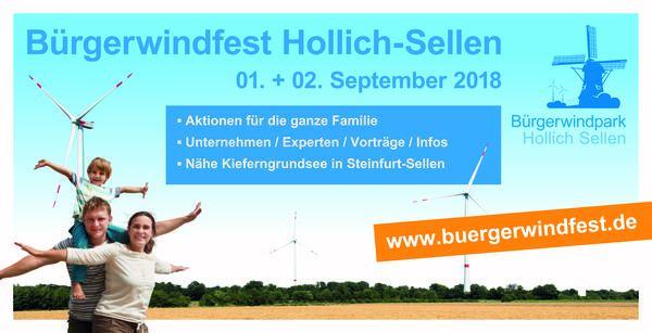 Banner Bürgerwindfest